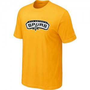 T-Shirts NBA San Antonio Spurs Jaune Big & Tall - Homme