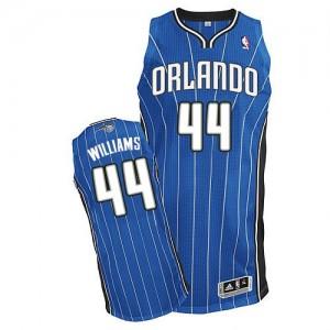 Maillot NBA Authentic Jason Williams #44 Orlando Magic Road Bleu royal - Homme