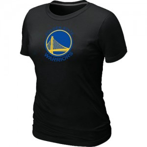 T-shirt principal de logo Golden State Warriors NBA Big & Tall Noir - Femme