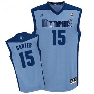 Maillot NBA Swingman Vince Carter #15 Memphis Grizzlies Alternate Bleu clair - Homme