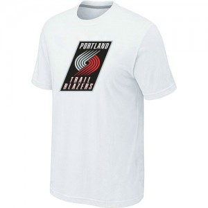 T-Shirts NBA Portland Trail Blazers Blanc Big & Tall - Homme