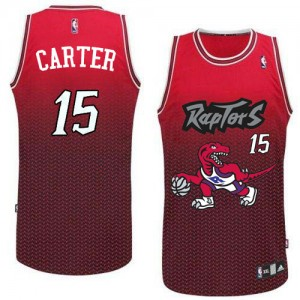 Maillot NBA Swingman Vince Carter #15 Toronto Raptors Resonate Fashion Rouge - Homme