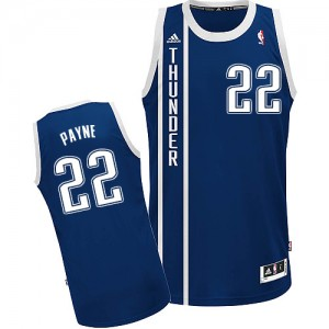 Maillot Adidas Bleu marin Alternate Swingman Oklahoma City Thunder - Cameron Payne #22 - Homme