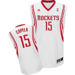 Maillot Swingman Houston Rockets NBA Home Blanc - #15 Clint Capela - Homme