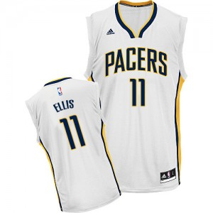 Maillot NBA Swingman Monta Ellis #11 Indiana Pacers Home Blanc - Homme
