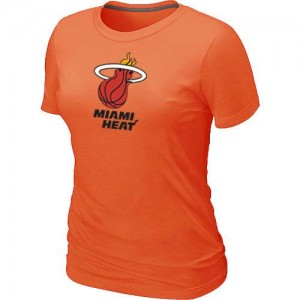 T-Shirts NBA Miami Heat Big & Tall Orange - Femme