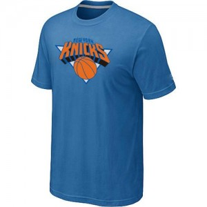 T-Shirts NBA New York Knicks Big & Tall Bleu clair - Homme