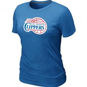 Los Angeles Clippers Big & Tall T-Shirts d'équipe de NBA - Bleu clair pour Femme