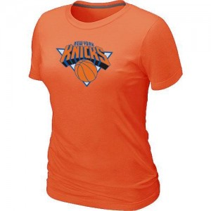 T-Shirts NBA New York Knicks Big & Tall Orange - Femme