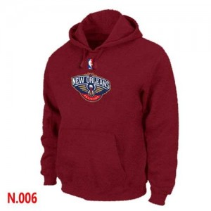 Sweat à capuche NBA New Orleans Pelicans Rouge - Homme