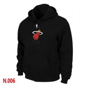 Miami Heat Sweat à capuche d'équipe de NBA - Noir pour Homme