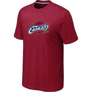 T-shirt principal de logo Cleveland Cavaliers NBA Big & Tall Rouge - Homme