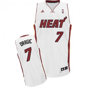 Maillot Swingman Miami Heat NBA Home Blanc - #7 Goran Dragic - Homme