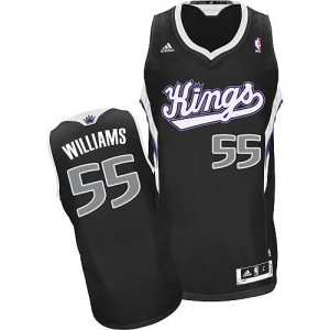 Maillot NBA Swingman Jason Williams #55 Sacramento Kings Alternate Noir - Homme