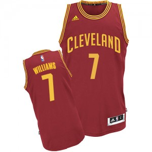 Maillot NBA Swingman Mo Williams #7 Cleveland Cavaliers Road Vin Rouge - Homme