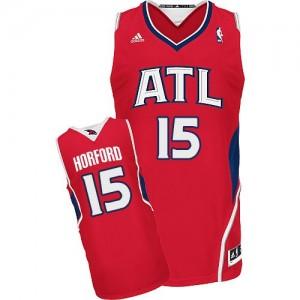 Atlanta Hawks #15 Adidas Alternate Rouge Swingman Maillot d'équipe de NBA boutique en ligne - Al Horford pour Homme