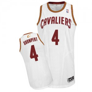 Maillot Authentic Cleveland Cavaliers NBA Home Blanc - #4 Iman Shumpert - Homme