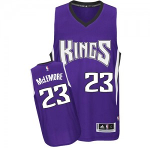 Sacramento Kings Ben McLemore #23 Road Authentic Maillot d'équipe de NBA - Violet pour Homme