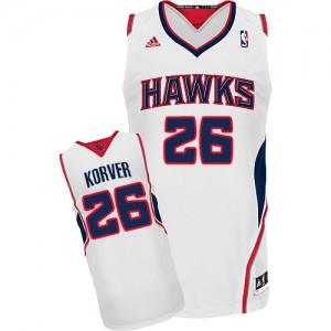 Maillot Swingman Atlanta Hawks NBA Home Blanc - #26 Kyle Korver - Homme