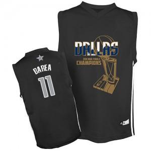 Maillot Authentic Dallas Mavericks NBA Finals Champions Noir - #11 Jose Barea - Homme