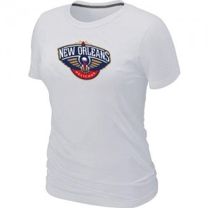 T-Shirts NBA New Orleans Pelicans Big & Tall Blanc - Femme