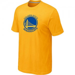 T-shirt principal de logo Golden State Warriors NBA Big & Tall Jaune - Homme