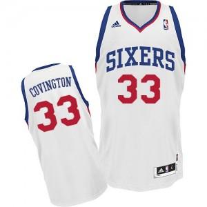 Maillot NBA Swingman Robert Covington #33 Philadelphia 76ers Home Blanc - Homme