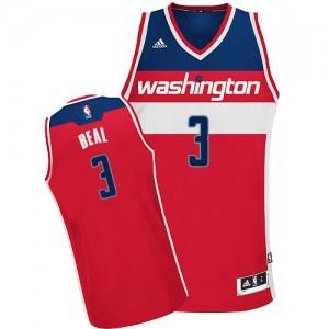 Washington Wizards #3 Adidas Road Rouge Swingman Maillot d'équipe de NBA en vente en ligne - Bradley Beal pour Homme