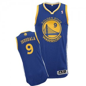 Maillot Authentic Golden State Warriors NBA Road Bleu royal - #9 Andre Iguodala - Homme