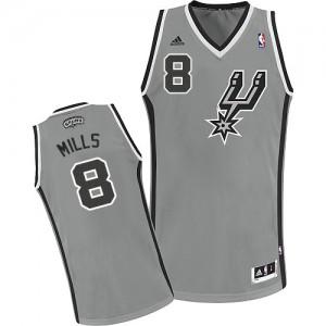 Maillot Swingman San Antonio Spurs NBA Alternate Gris argenté - #8 Patty Mills - Homme