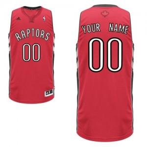 Toronto Raptors Swingman Personnalisé Road Maillot d'équipe de NBA - Rouge pour Enfants