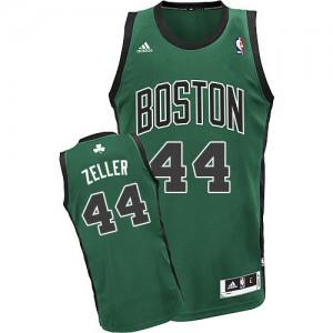 Boston Celtics #44 Adidas Alternate Vert (No. noir) Swingman Maillot d'équipe de NBA préférentiel - Tyler Zeller pour Homme