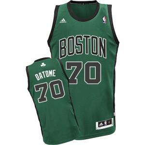 Maillot NBA Swingman Gigi Datome #70 Boston Celtics Alternate Vert (No. noir) - Homme