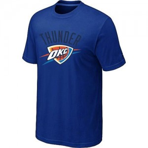 T-Shirts NBA Oklahoma City Thunder Big & Tall Bleu - Homme