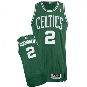 Maillot Authentic Boston Celtics NBA Road Vert (No Blanc) - #2 Red Auerbach - Homme