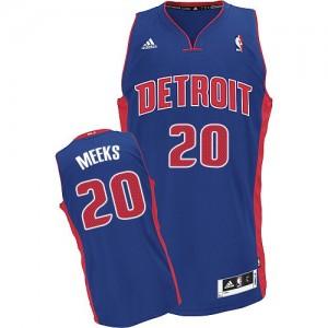 Maillot NBA Swingman Jodie Meeks #20 Detroit Pistons Road Bleu royal - Homme