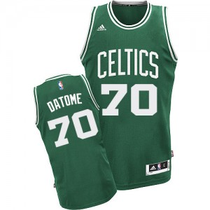 Maillot NBA Swingman Gigi Datome #70 Boston Celtics Road Vert (No Blanc) - Homme