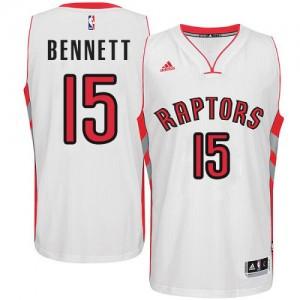 Maillot Swingman Toronto Raptors NBA Home Blanc - #15 Anthony Bennett - Homme