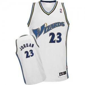 Maillot Adidas Blanc Swingman Washington Wizards - Michael Jordan #23 - Homme