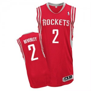 Maillot NBA Authentic Patrick Beverley #2 Houston Rockets Road Rouge - Homme