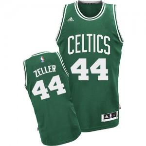 Boston Celtics #44 Adidas Road Vert (No Blanc) Swingman Maillot d'équipe de NBA Braderie - Tyler Zeller pour Homme