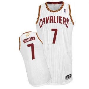 Maillot NBA Authentic Mo Williams #7 Cleveland Cavaliers Home Blanc - Homme