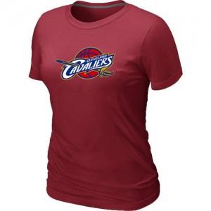 T-shirt principal de logo Cleveland Cavaliers NBA Big & Tall Rouge - Femme