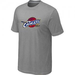 T-shirt principal de logo Cleveland Cavaliers NBA Big & Tall Gris - Homme