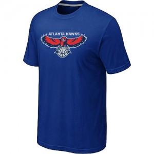 Atlanta Hawks Big & Tall Bleu T-Shirts d'équipe de NBA Promotions - pour Homme