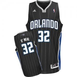 Maillot NBA Noir Shaquille O'Neal #32 Orlando Magic Alternate Swingman Homme Adidas