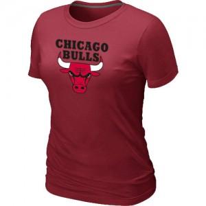 Chicago Bulls Big & Tall Rouge T-Shirts d'équipe de NBA à vendre - pour Femme