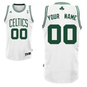 Boston Celtics Swingman Personnalisé Home Maillot d'équipe de NBA - Blanc pour Homme