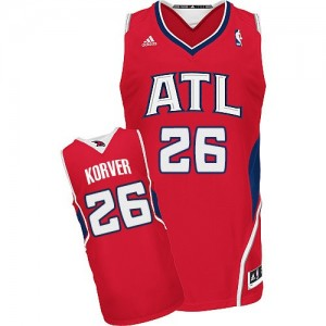 Maillot Swingman Atlanta Hawks NBA Alternate Rouge - #26 Kyle Korver - Homme