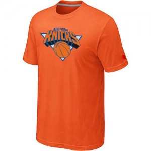 T-Shirts NBA New York Knicks Big & Tall Orange - Homme